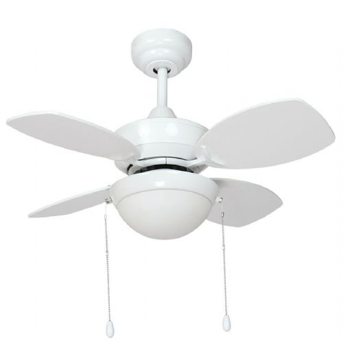 "Fantasia Kompact Combi 28"" White Ceiling Fan +  Light 115540"